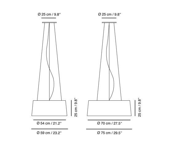 Aitana | Suspension lamp by Carpyen | Suspended lights