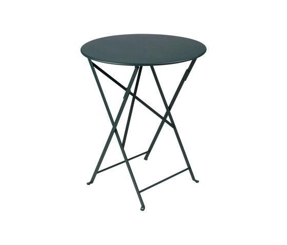 Bistro | La Table Ø 60 cm de FERMOB | Tables de bistrot