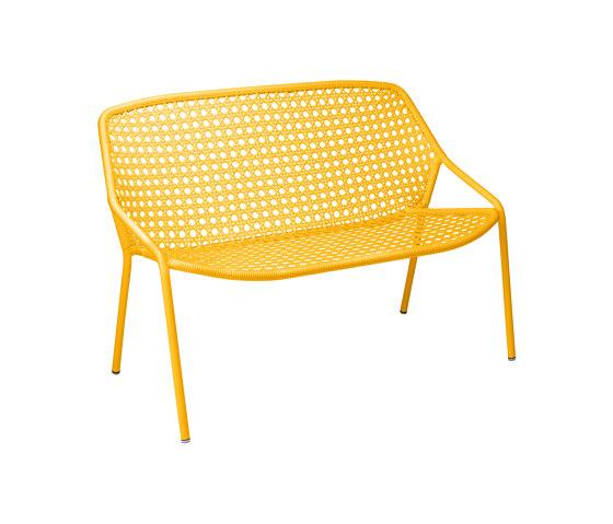 Croisette | 2-Seater Bench de FERMOB | Bancos