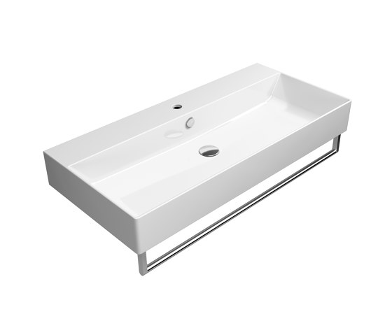 Kube X 100x47 | Washbasin by GSI Ceramica | Wash basins
