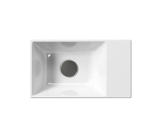 Kube X 40x23 | Washbasin by GSI Ceramica | Wash basins