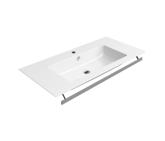 Pura 100x50 | Washbasin by GSI Ceramica | Wash basins