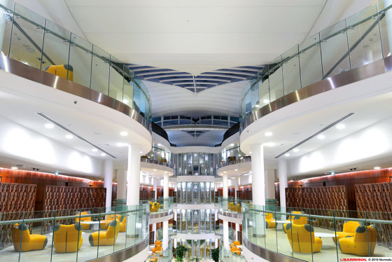 Our acoustic solutions | Barrisol Acoustics® by BARRISOL | Acoustic ceiling systems