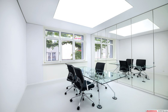Our climatisation solution | Barrisol Clim® by BARRISOL | Suspended ceilings