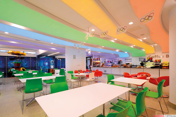 Our lightings solutions | Barrisol Lumière Color® by BARRISOL | Suspended ceilings