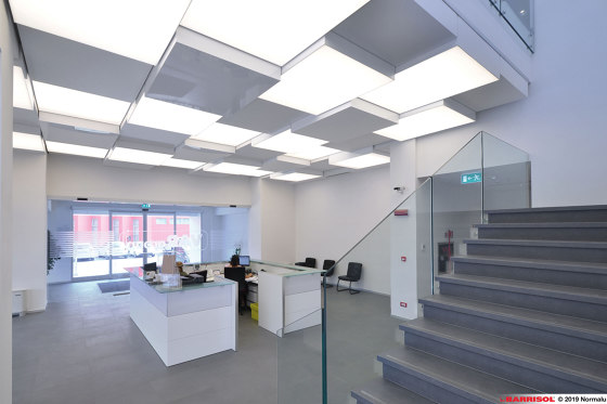Our lightings solutions   Barrisol® Illuminated light boxes by BARRISOL   Suspended ceilings