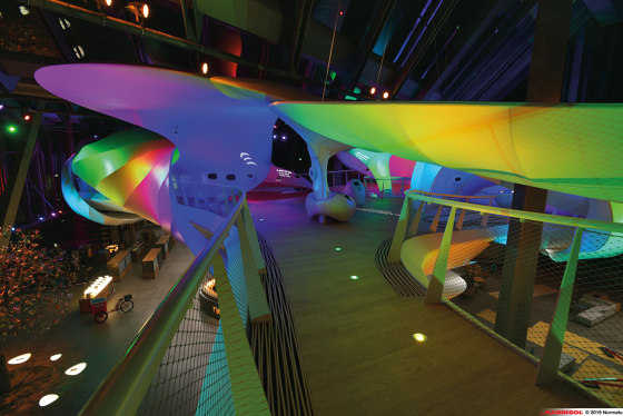 Our lightings solutions   Barrisol® Projection and lighting effects by BARRISOL   Suspended ceilings