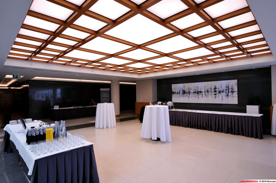 Our solutions for interiors | Barrisol® Tiles by BARRISOL | Suspended ceilings