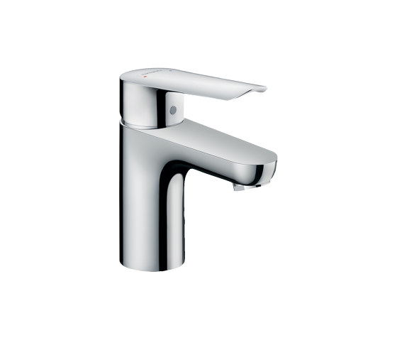 hansgrohe Logis E Single lever basin mixer 70 with pop-up waste set by Hansgrohe | Wash basin taps