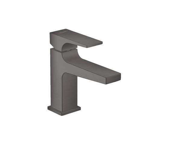 hansgrohe Metropol Single lever basin mixer 100 with lever handle and push-open waste set for hand washbasins by Hansgrohe | Wash basin taps