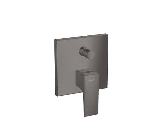 hansgrohe Metropol Single lever bath mixer with lever handle for concealed installation with security combination by Hansgrohe | Bath taps