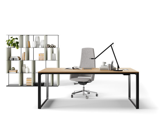 Diamond EVO executive by Sinetica Industries   Desks