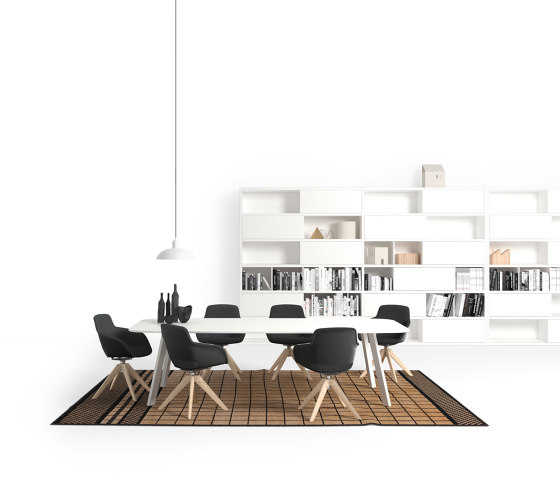 Stay meeting by Sinetica Industries | Contract tables