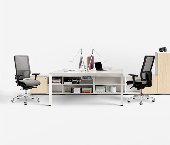 Diamond EVO operative by Sinetica Industries | Contract tables