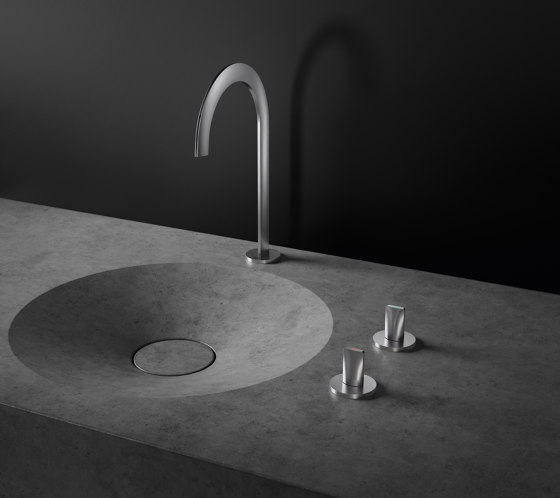 Atrio Icon 3D 3-hole deck-mount basin mixer by GROHE | Wash basin taps