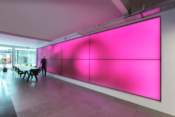 Philips luminous textile with Kvadrat Soft Cells by Large Luminous Surfaces (Signify) | Special lights