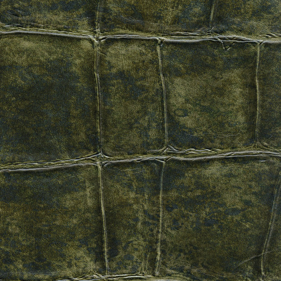 Anguille Big Croco Legend | VP 426 09 by Elitis | Wall coverings / wallpapers