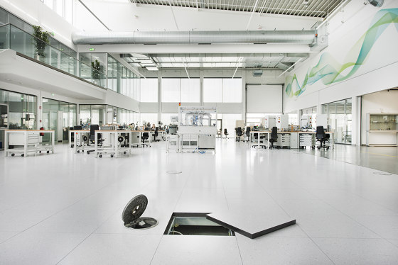 NORTEC power by Lindner Group | Sound absorbing flooring systems