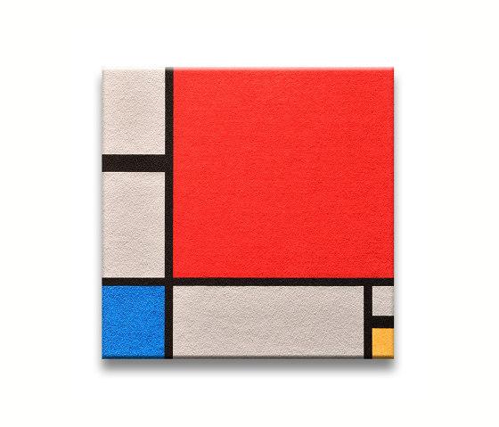 Komposition In Rot, Blau, Gelb by Findeisen | Sound absorbing objects