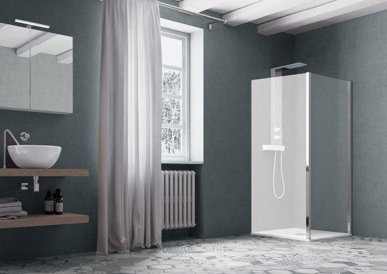 America Quattro SP by SAMO   Shower screens