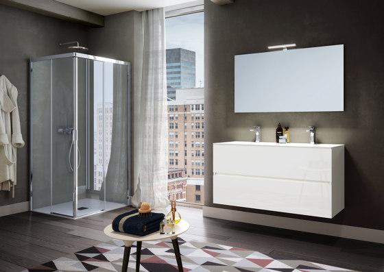 America Quattro SP by SAMO | Shower screens