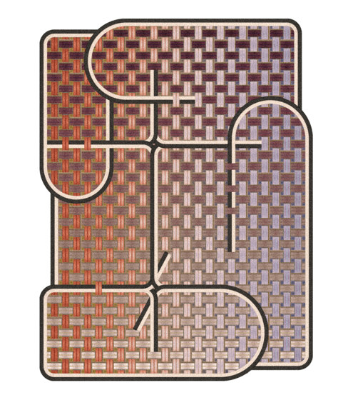 Yarn Box | Tangle Medan by moooi carpets | Rugs