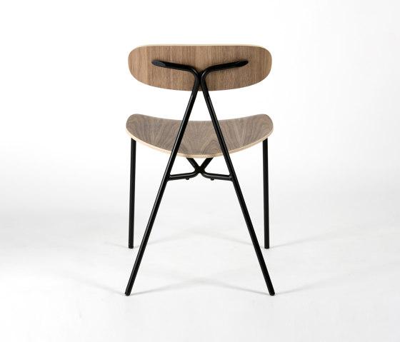 Lagoa - Walnut by Objekto | Chairs