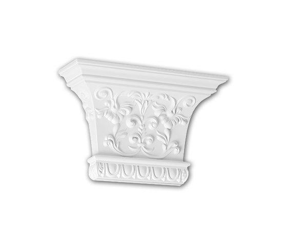 Interior mouldings - Capitel de pilastra Profhome Decor 121007 de e-Delux | Listones