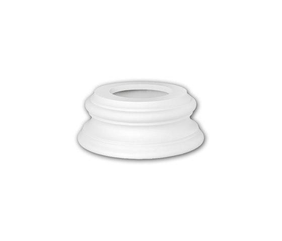 Interior mouldings - Zócalo de columna Profhome Decor 113400 de e-Delux | Losetas táctiles