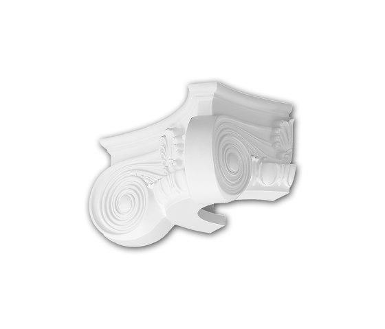 Interior mouldings - Capitel de media columna Profhome Decor 115003 de e-Delux | Listones