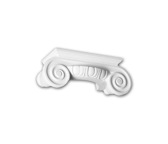 Interior mouldings - Capitel de media columna Profhome Decor 115004 de e-Delux   Listones