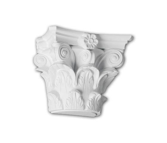 Interior mouldings - Capitel de media columna Profhome Decor 115010 de e-Delux   Listones