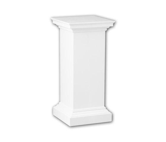 Interior mouldings - Pedestal de columna Profhome Decor 114002 de e-Delux | Losetas táctiles