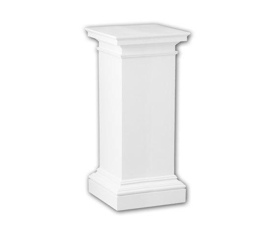 Interior mouldings - Pedestal de columna Profhome Decor 114003 de e-Delux | Losetas táctiles