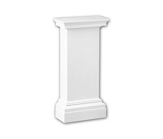 Interior mouldings - Pedestal de media columna Profhome Decor 118001 de e-Delux | Losetas táctiles