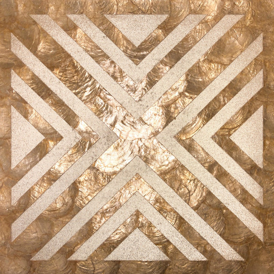 Capiz - Wall panel WallFace Capiz Collection LU04 by e-Delux | Wall panels