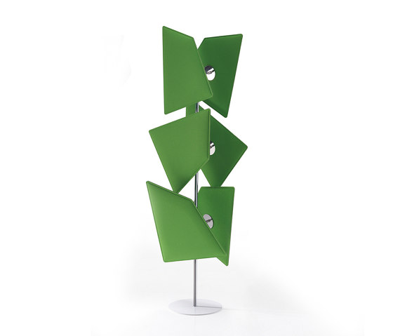 Flap Totem by Caimi Brevetti | Sound absorbing freestanding systems