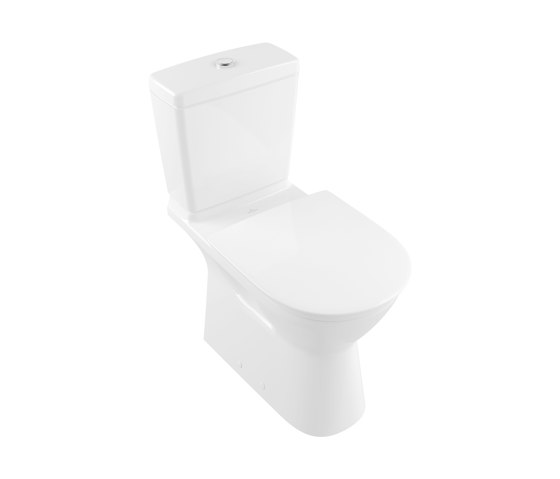 O.Novo Vita Washdown WC For Close-Coupled WC-Suite, Rimless Vita by Villeroy & Boch   WC
