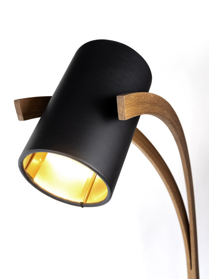 Milano Nero by david concept | Free-standing lights