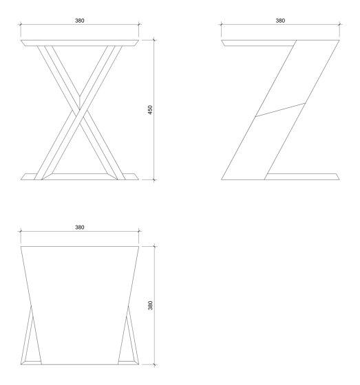Sgabello de david concept | Mesas auxiliares