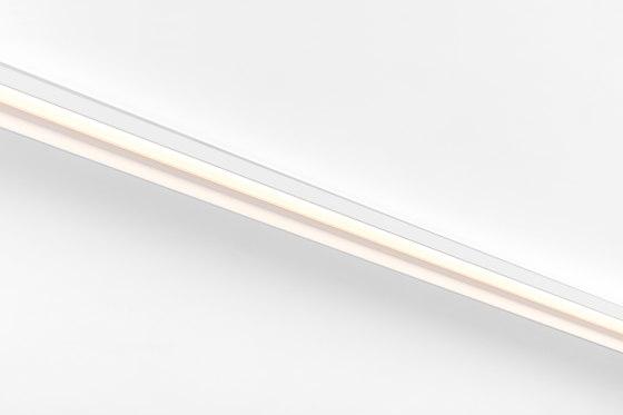 Pista track 48V LED linear flaps GI by Modular Lighting Instruments | Ceiling lights