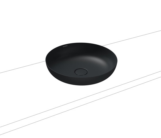 Miena washbowl catania grey matt (round) by Kaldewei | Wash basins