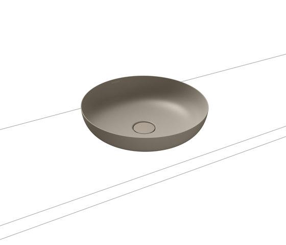 Miena washbowl perl grey matt (round) by Kaldewei | Wash basins