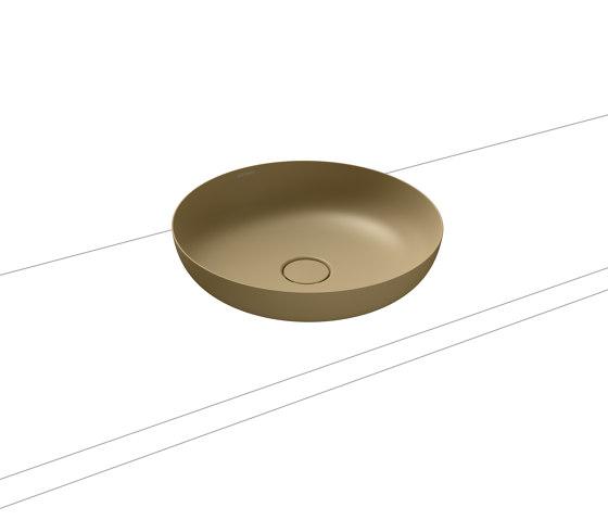 Miena washbowl prairie beige matt (round) by Kaldewei | Wash basins