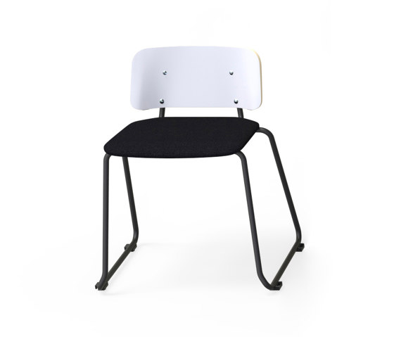 Grip NxT with sled base by Martela | Chairs