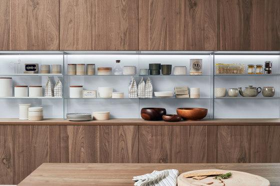 Stepsystem Vetro de Veneta Cucine   Organización cocina