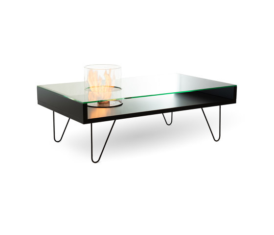 Fire Coffee Table by Planika | Ventless fires