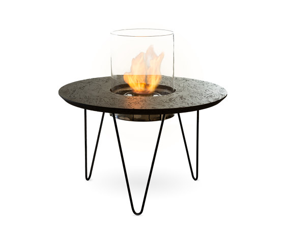 Fire Table Round by Planika | Ventless fires