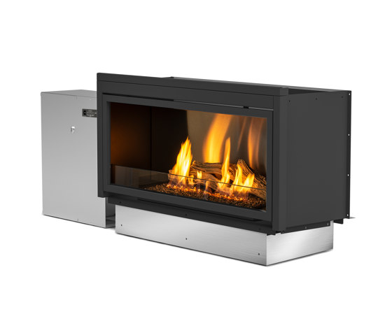 Pure Flame with Locker by Planika | Fireplace inserts