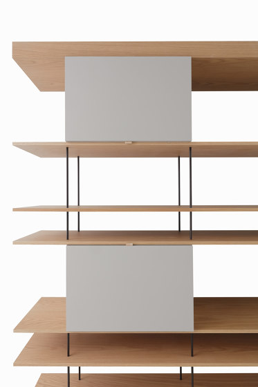F1 Bookcases | Web Line 05 by Forme's Collection | Shelving